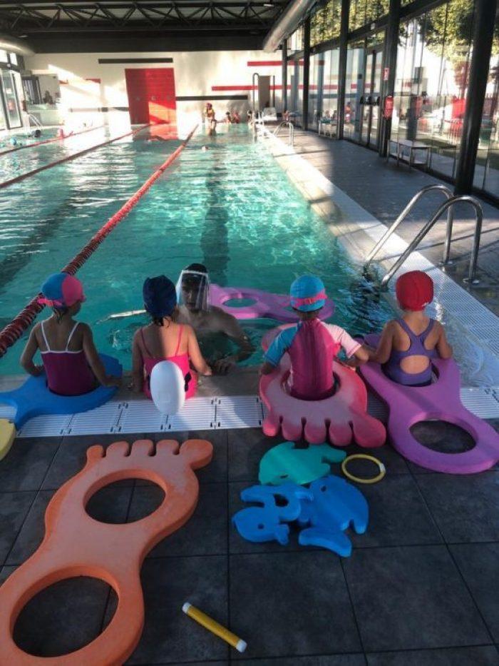 Cursets de natació infantils